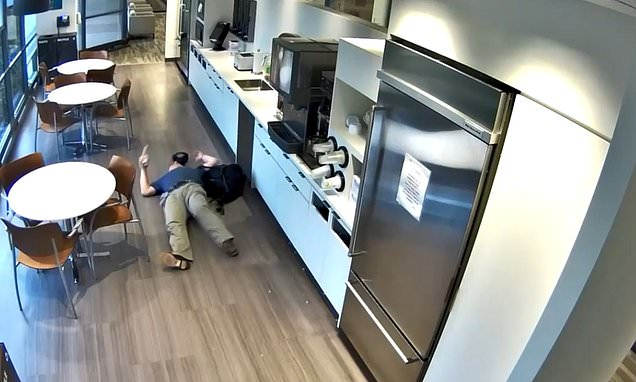 NJ man caught on video faking a fall at a business in insurance scam