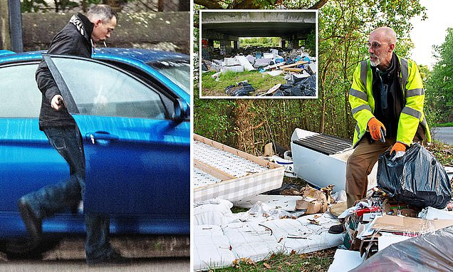 The countryside citizen heroes hunting down illegal fly-tippers