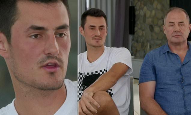 Bernard Tomic denies he ever threatened Lleyton Hewitt's family