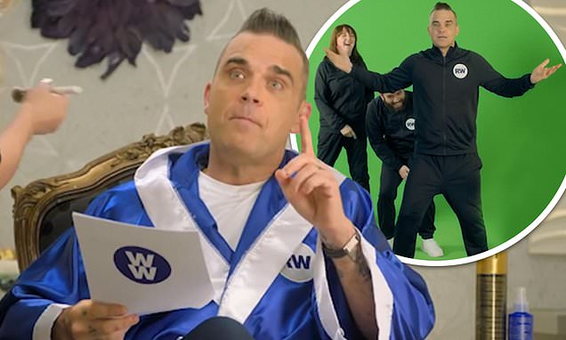 Robbie Williams shows off his 'wellness' side in video for WW