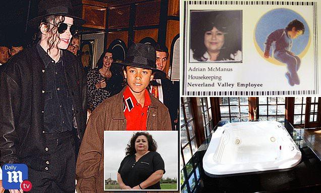 Michael Jackson's ex maid says she found boy's underwear in Jacuzzi