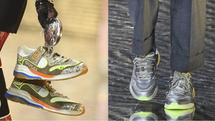 We Found the Replacement For Dad Sneakers on the Gucci Runway