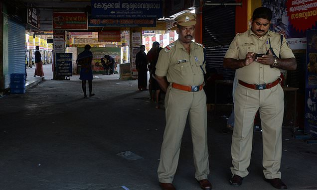 Woman, 36, is arrested for 'raping her nine-year-old nephew' in India