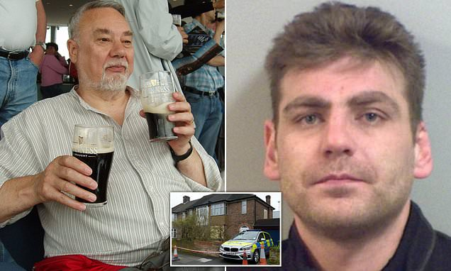 OAP who stabbed burglar to death 'gets threats from traveller gang'