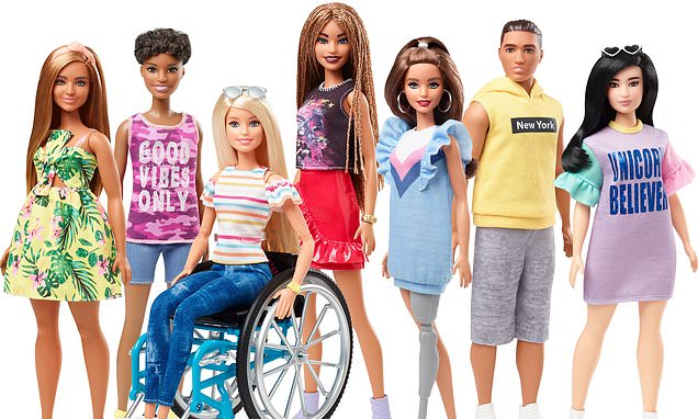 Barbie launches disabled dolls in wheelchairs and with prosthetic legs