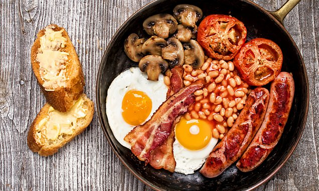 Banned: Adverts that said fry-ups can beat diabetes