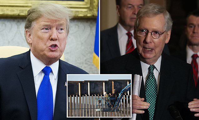 BREAKING NEWS: McConnell says Trump is 'prepared to sign' budget bill
