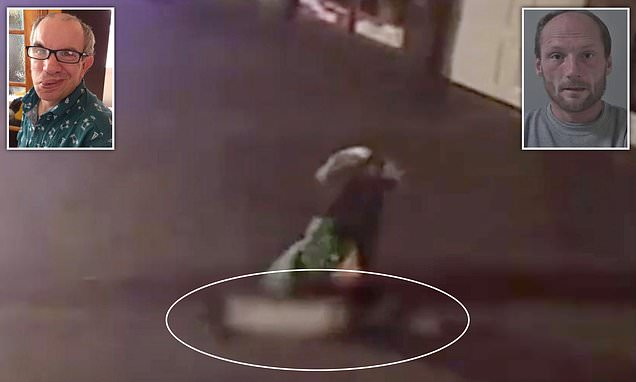 Family release CCTV clip that shows moment  thug kills a disabled man