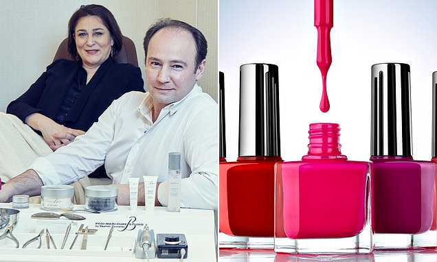 SARAH VINE: Why you should take off your nail polish before bed