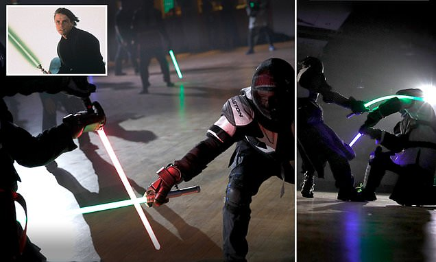 French fencing federation recognizes lightsaber dueling as a sport