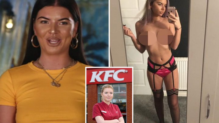 Shipwrecked star Beth is 'Chicken Stripper' BBC documentary star who sold topless snaps on X-rated site after quitting KFC job