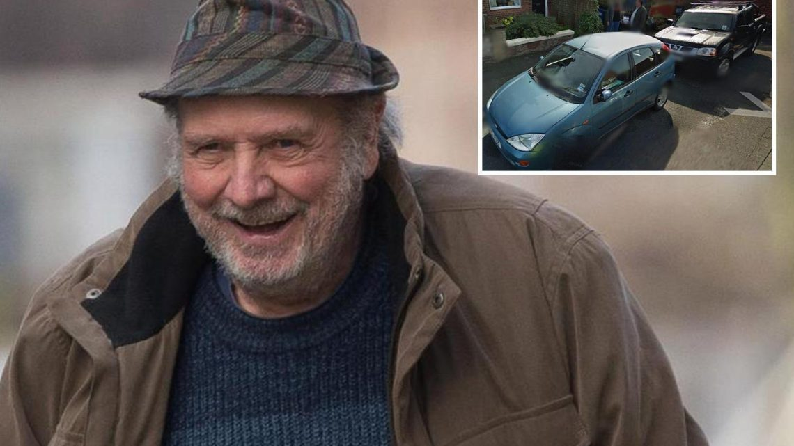Grumpy neighbour, 72, nicknamed 'Victor Meldrew' rammed next door's car with his truck so he could park by his house