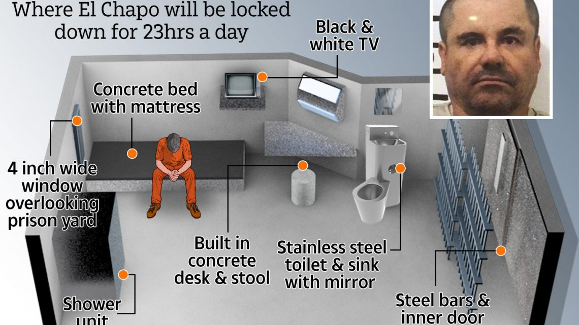 Inside El Chapo's cell: Reinforced cage with concrete slab bed that ex-cons call 'high-tech hell'