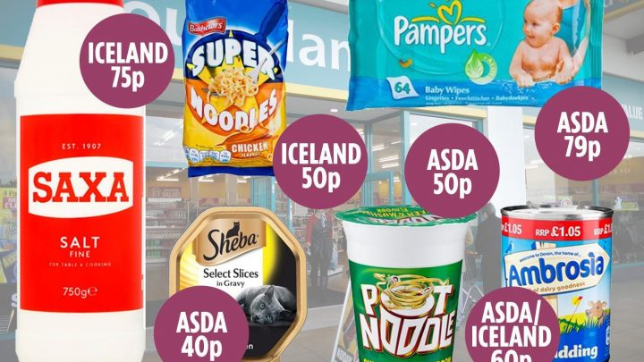 Poundland actually charges you DOUBLE for some branded goods compared to supermarkets