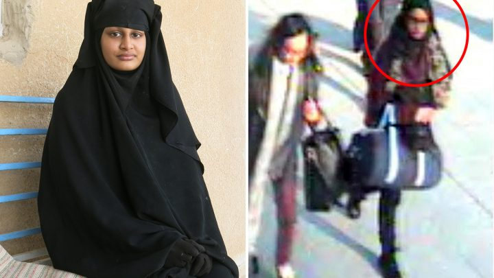 First pic of pregnant ISIS schoolgirl Shamima Begum, 19, who's begging to come home to UK after joining fanatics in Syria