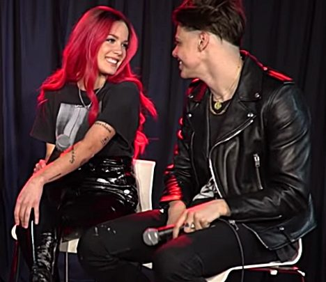 Halsey and YungBlud Talk About How They First Connected and How They Collaborated on their New Song