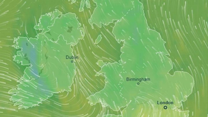 UK weather forecast – Met Office issues 'severe' wind warnings tonight as FOUR-DAY 70mph storm to spark power cuts and travel chaos