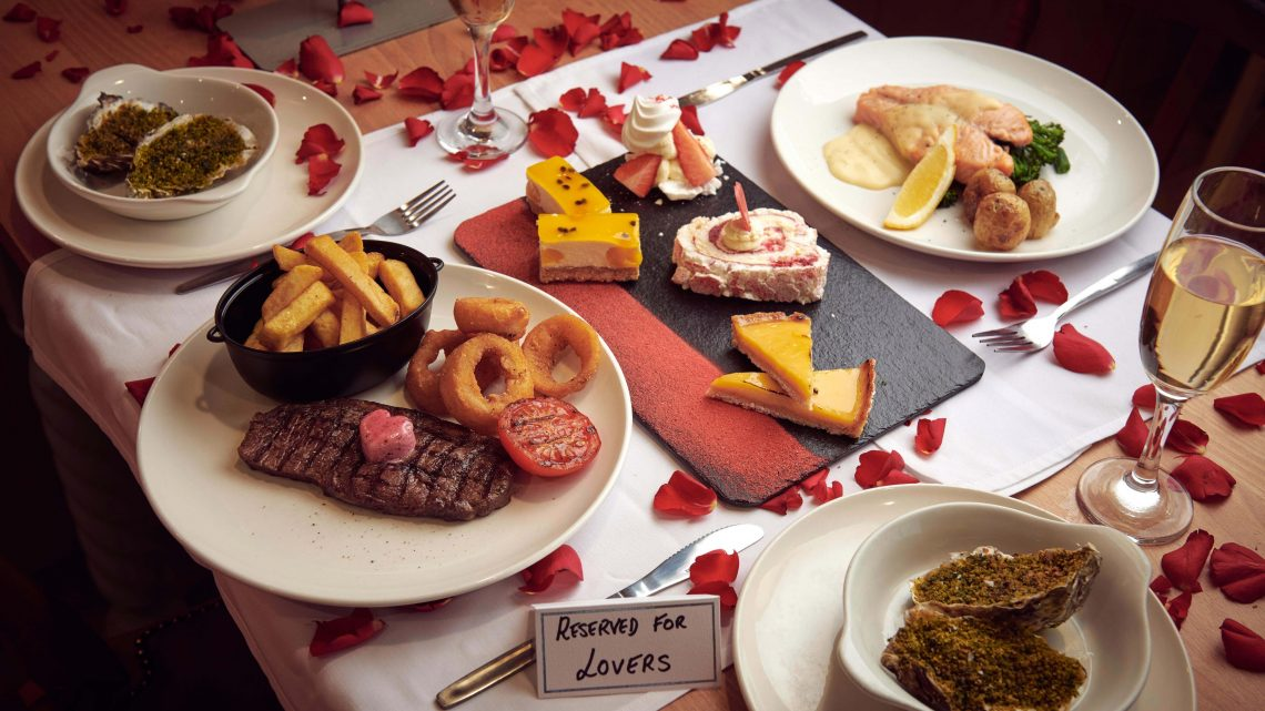 Morrisons is doing a five-course Valentine's Day dinner at its café for £10 – and it includes a glass of fizz