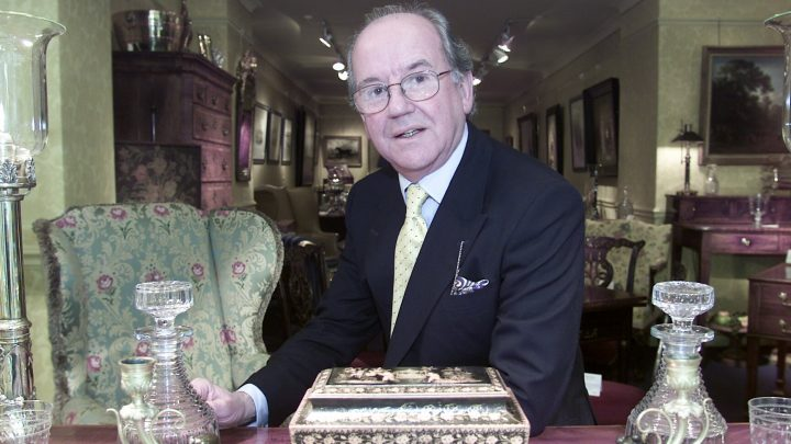 Antiques Roadshow expert John Bly reveals he didn't film BBC show sober for 15 years