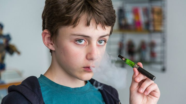 Number of under-18s using e-cigarettes DOUBLES in four years, figures show