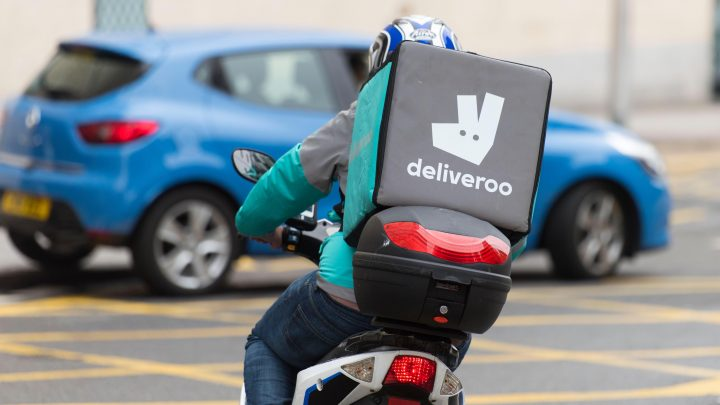 Deliveroo down – app and website crash leaving customers waiting for deliveries