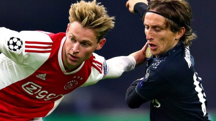 Modric and De Jong 'upset at having to pee in cups right next to each other' during drug test after Real Madrid win at Ajax
