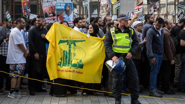 UK supporters of extremist group Hezbollah could face up to ten years in jail