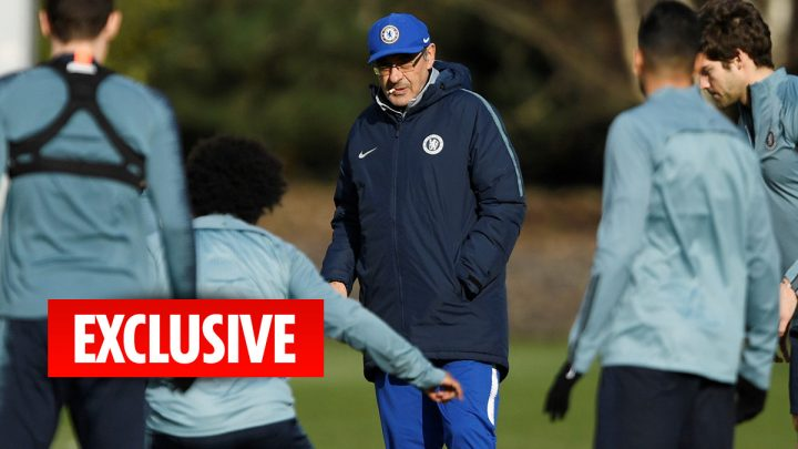 Chelsea players expect Sarri to be sacked next week if they flop against Man City in the Carabao Cup final