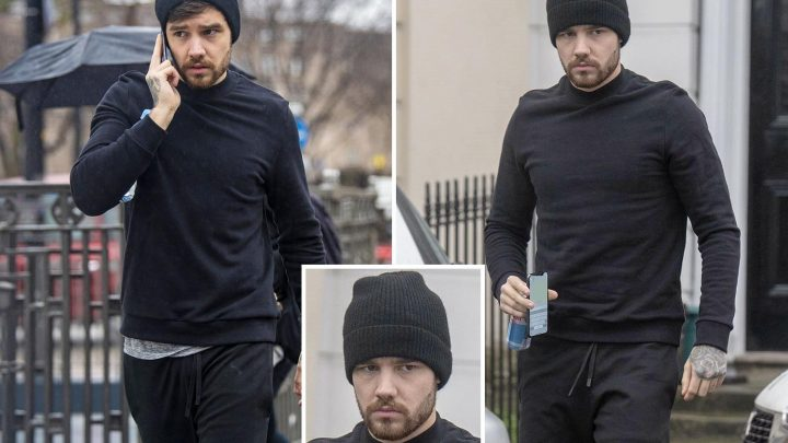 Liam Payne looks glum in London as Naomi Campbell jets to New York after their 'mind-blowing' sex is revealed