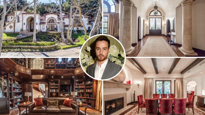 Liam Payne knocks £774k off the price of 'haunted' £9m LA mansion after failing to sell home he shared with ex Cheryl