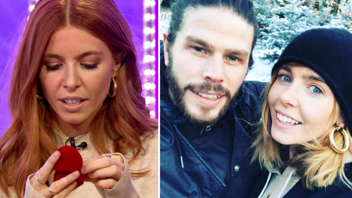 Stacey Dooley tries on Poundland engagement ring after revealing baby plans with boyfriend Sam Tucknott