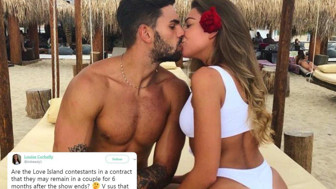 Love Island fans convinced Adam Collard and Zara McDermott's split 'proves' six month contract fan theory