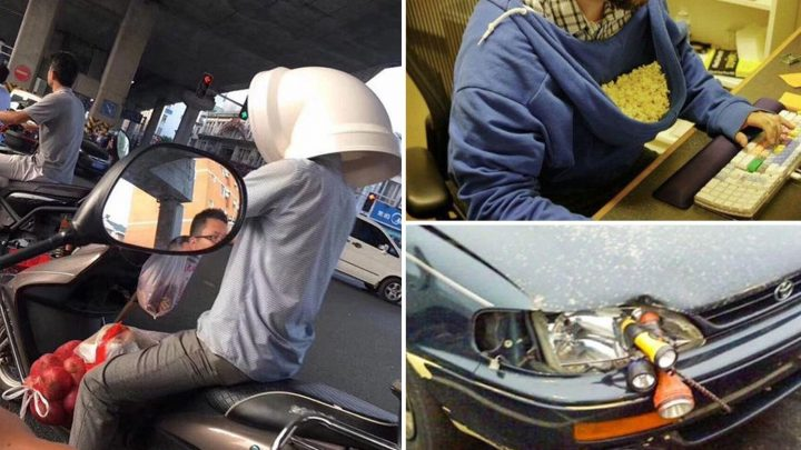 Crazy DIY solutions prove there's no household problem men won't attempt to fix themselves