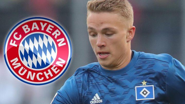 Chelsea blow as Bayern Munich agree £2.2m fee to sign 19-year-old Hamburg striker Jann-Fiete Arp