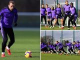 Kane edges closer to shock return against Burnley as he trains with first team after ankle injury