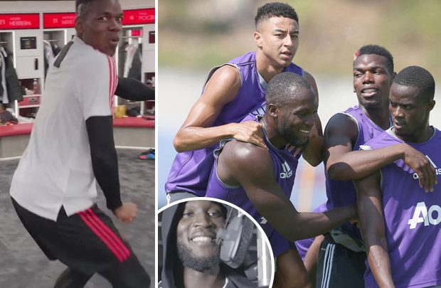Secrets of Man Utd's dressing room with Lukaku rapping, dance contests between Pogba and Bailly while Young pranks Jones