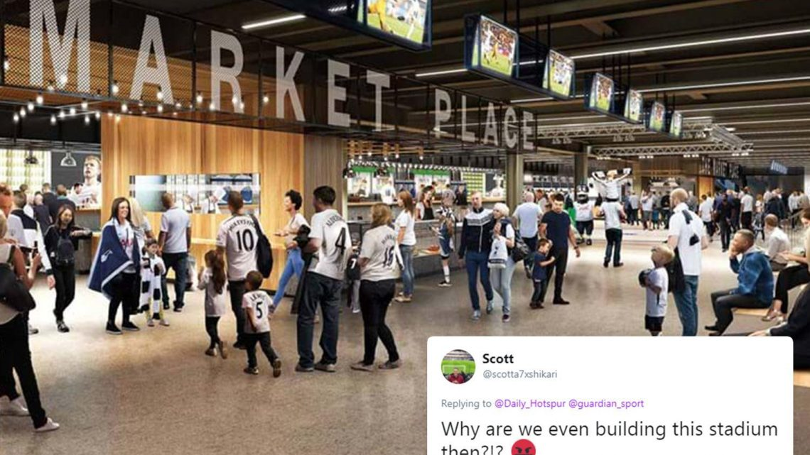Tottenham's new £1bn stadium will NOT have VIP cheese room, leaving fans on Twitter in dis-brie-lief