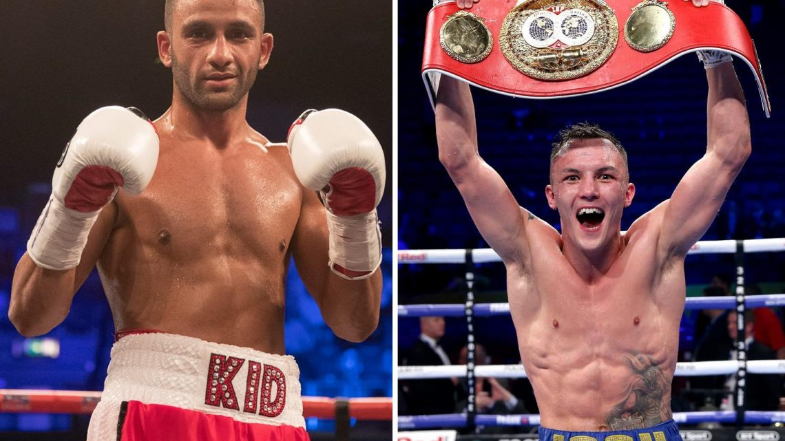 World champ Josh Warrington blasts Kid Galahad a 'disgrace' with Carl Frampton hoping drug cheat gets 's*** kicked out of him'