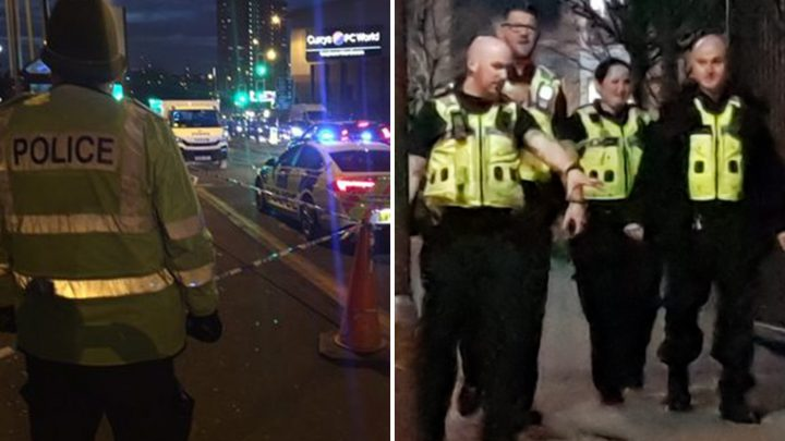 Boy, 16, critical after being 'stabbed in chest' by 'masked' knifeman outside Birmingham college as a 16-year-old is arrested