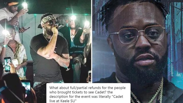 Cadet fans slam vile troll who demanded ticket refund after rapper was killed in taxi smash on way to gig