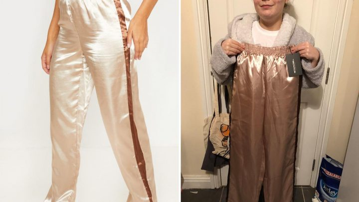Shopper blasts PrettyLittleThing after trousers are SO long they cover her boobs