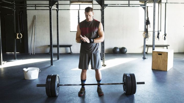 How to Work Out Using Only a Barbell