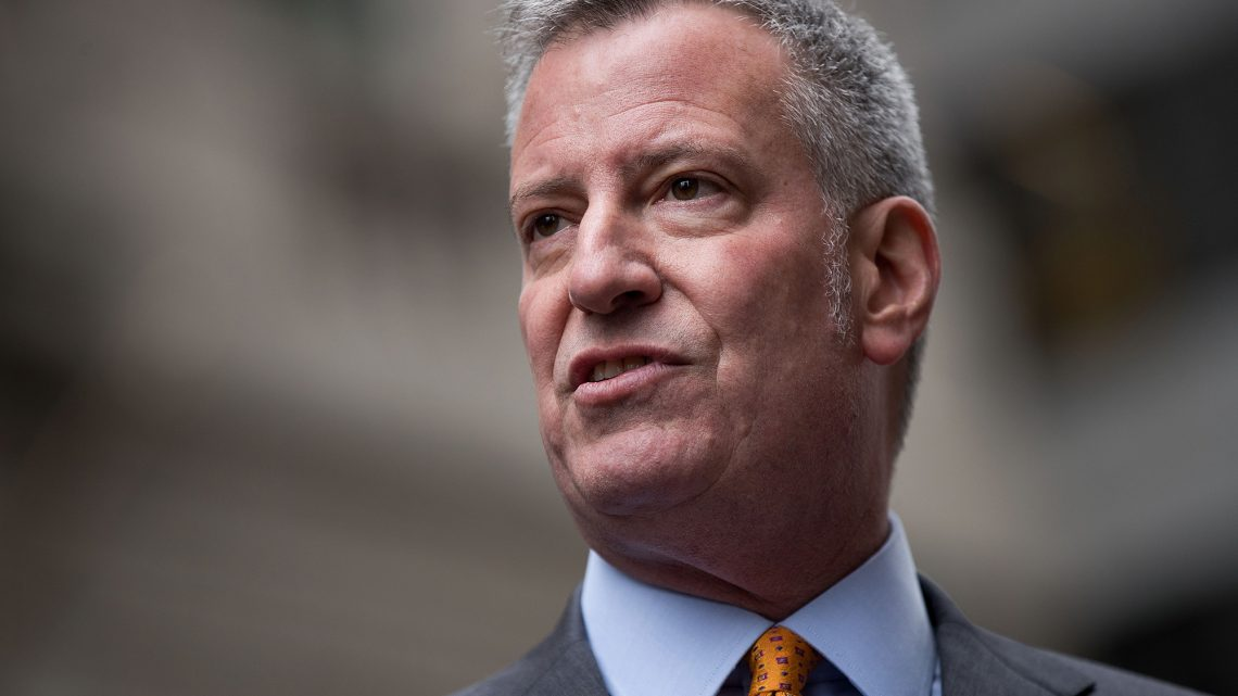 NYC's tax dollars are still rushing in — and Blas is still spending even faster