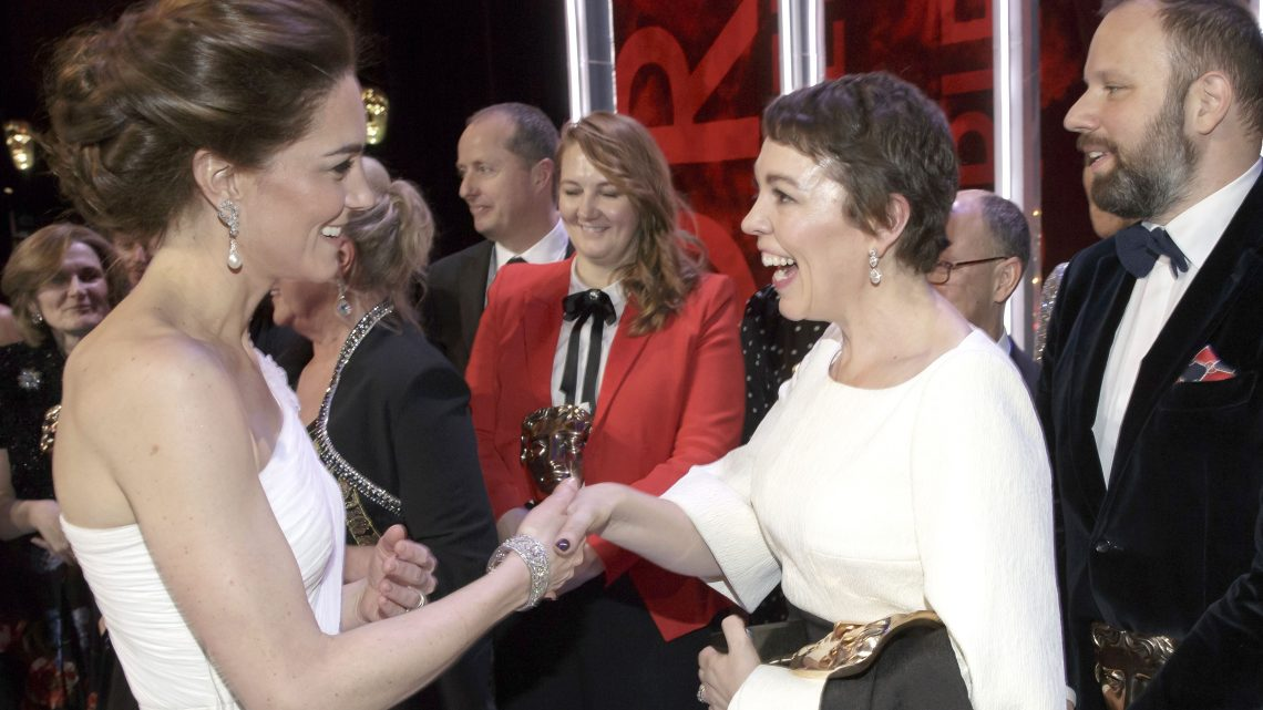 Prince William & Duchess Kate Met Olivia Colman and It Wasn't Awkward At All