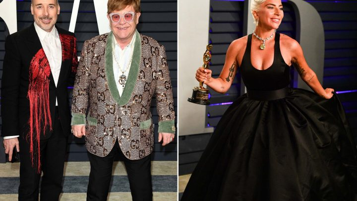 Lady Gaga gets 'handwritten note' from Elton John's children after Oscars 2019 win