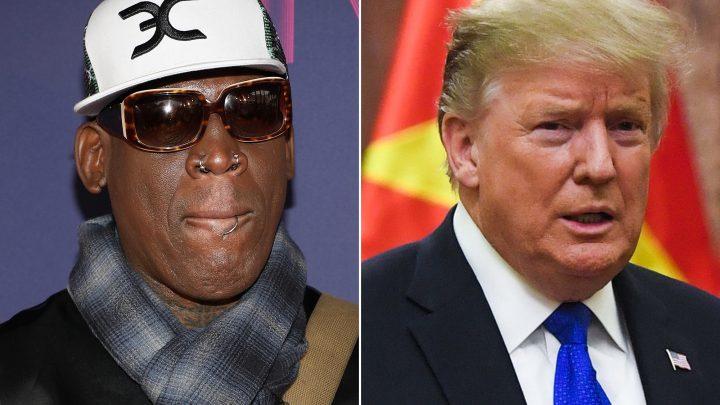 Dennis Rodman offers Trump help with North Korea talks