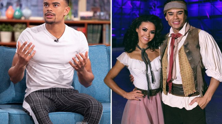 Wes Nelson's skating partner Vanessa Bauer is 'struggling to cope' with nasty messages after fans accused them of having an affair on Dancing On Ice
