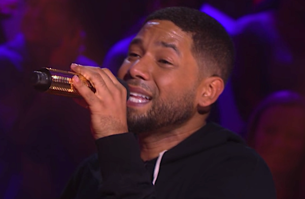 Jussie Smollett's Drop the Mic Episode Pulled From TNT Following Arrest