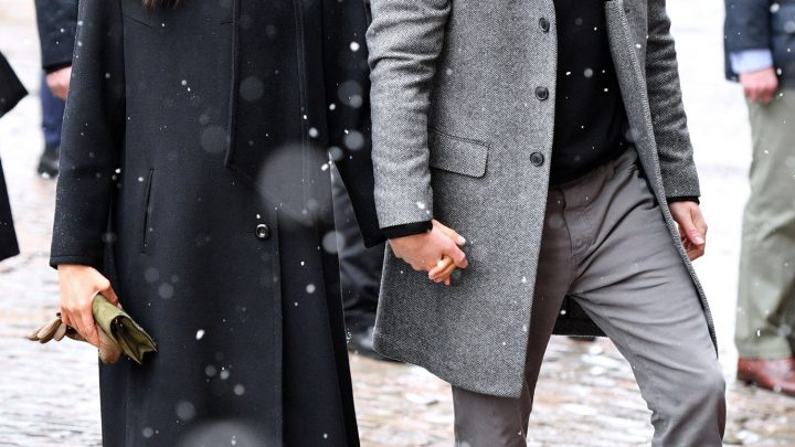 Royal Winter Date! Meghan Markle and Prince Harry Step Out for Their First Snowy Outing Together