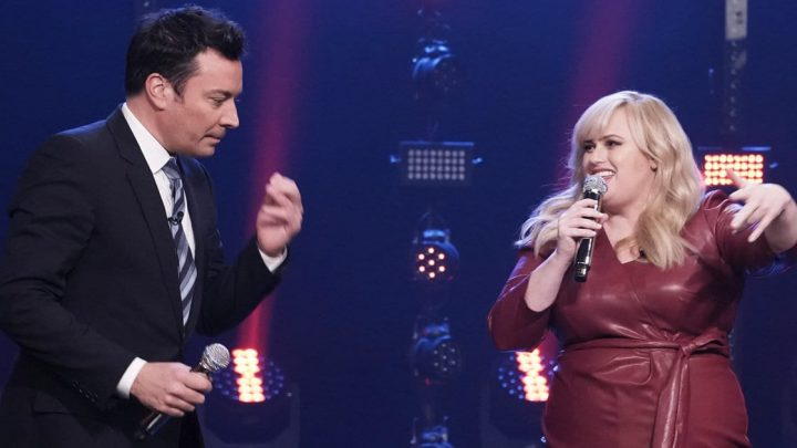 Rebel Wilson Channels Her Inner Spice Girl, Raps Nicki Minaj In 'Tonight Show' Competition
